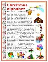 2645 christmas alphabet
