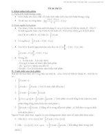Phân dạng các bài toán tích phân  Phạm Minh Tứ