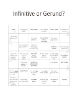 23689 infinitive or gerund board game