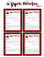 1522 advanced speaking cards  dark stories  yes no questions
