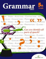 Grammar galore 5th grade can you identify all parts of speech