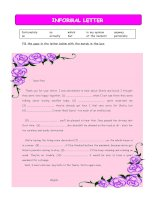 5514 informal letter sample