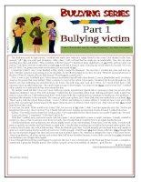 6066 bullying series  part 1  bullying victim