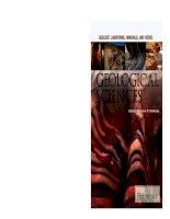 Geological sciences geology landforms, minerals, and rocks