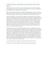 TOPIC nói TIẾNG ANH về một TAI nạn mà bạn TỪNG THẤY 1