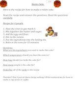 66486 recipe worksheet
