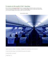 Từ vựng theo chủ đề trong đề thi TOEIC   hàng không