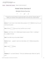 ENGLISH PAGE   modal verbs exercise 6