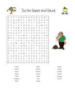 12838 five senses word search