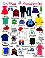 45751 clothes and accessories  poster