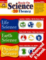 Hands on science 20 themes