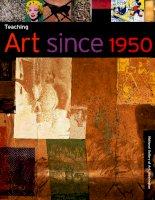 Teaching art since 1950
