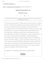 ENGLISH PAGE   mixed prepositions 18