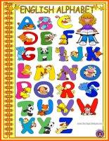 9434 english alphabet