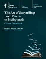 The art of storytelling from parents to professionals course guidebook