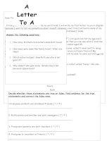 6086 a letter to a penfriend