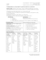 STUDENTS WORKSHEETS 2