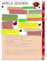 9451 apple idioms