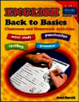 English   back to basics classroom and homework activities book a