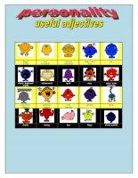 6954 personality useful adjectives