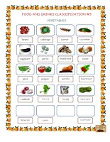 16652 food  drinks classification 3 vegetables