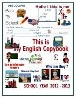 29189 copybook cover
