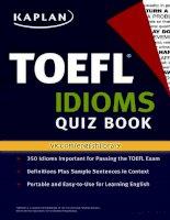 TOEFL idioms   quiz book vk com bastau
