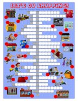 59598 shopping crossword puzzle