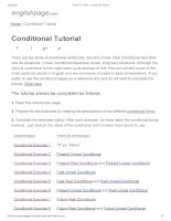 ENGLISH PAGE   conditional tutorial