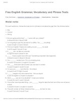 Modal verbs   free english grammar, vocabulary and phrase tests
