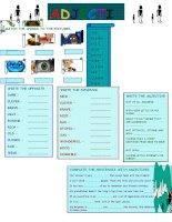 islcollective worksheets elementary a1 preintermediate a2 elementary school high school spelling writing adjective adjec 1148370462546319e11166a3 02256888