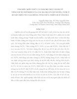 Tìm hiểu kiến thức và thái độ thực hành về tiêm chủng mở rộng của các bà mẹ có con dưới 1 tuổi ở huyện miền núi Nam Đông tỉnh Thừa Thiên Huế năm 2011