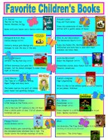 25546 favorite childrens books