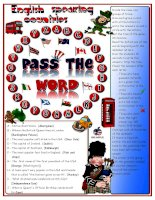 52738 pass the word  englishspeaking countries quizl