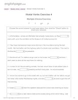 ENGLISH PAGE   modal verbs exercise 4