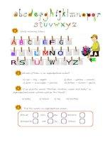 24926 the alphabet