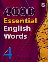 4000 từ vựng tiếng anh quyển 4