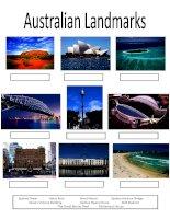 4454 australian landmarks