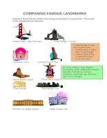 8141 comparing famous landmarks