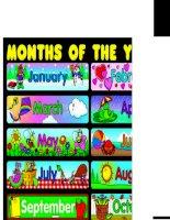 5845 months poster