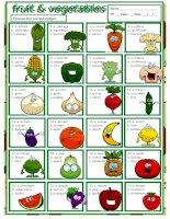 33735 fruit  vegetables