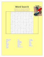35515 wordsearch modes  of transportation