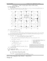 (Đồ án tốt nghiệp) Tính toán thép sàn công trình Nam Nhac