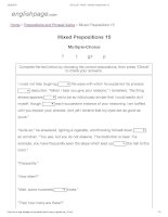 ENGLISH PAGE   mixed prepositions 15