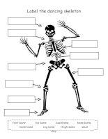 32863 label the skeleton