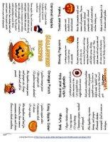 263 halloween recipes minibook