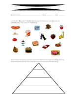 29784 food pyramid  healthy and unhealthy food