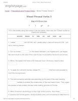 ENGLISH PAGE   mixed phrasal verbs 3