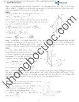 Phương pháp tọa độ hóa trong hình học không gian