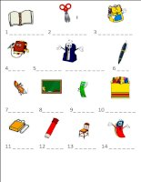 33620 classroom objects
